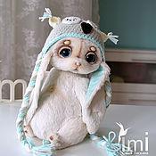 Куклы и игрушки ручной работы. Ярмарка Мастеров - ручная работа крошка в шапочке совы. Handmade.
