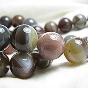 Материалы для творчества handmade. Livemaster - original item Agate, smooth ball 10mm. Handmade.