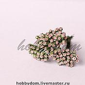 Материалы для творчества ручной работы. Ярмарка Мастеров - ручная работа Роза в бутоне микро. Handmade.