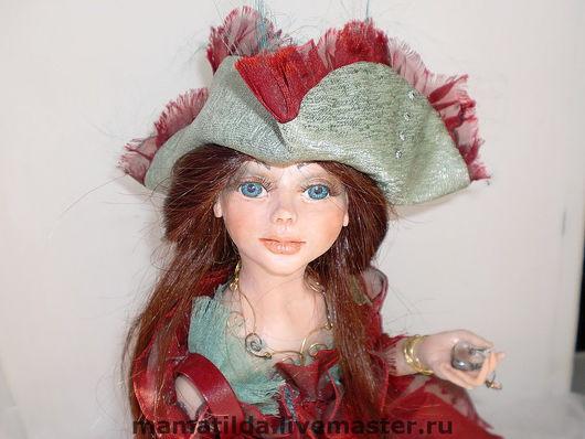 Коллекционные куклы ручной работы. Ярмарка Мастеров - ручная работа. Купить Кукла  Мишель -Загадай желание.. Handmade. Коллекционная кукла