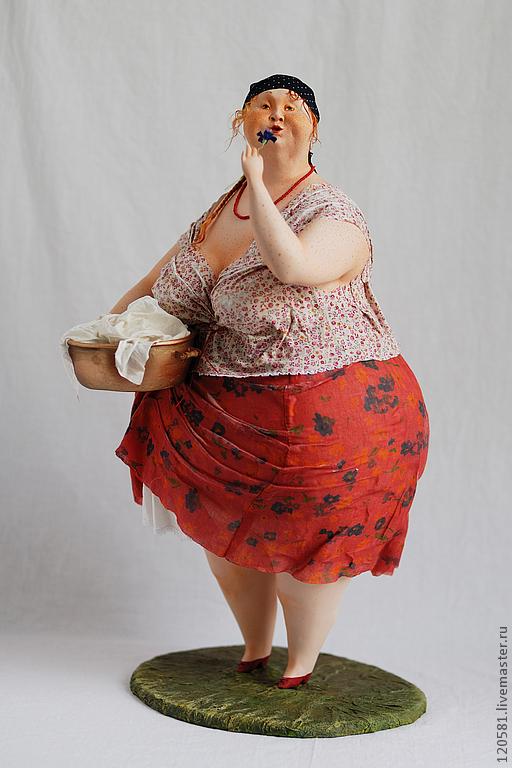 """Коллекционные куклы ручной работы. Ярмарка Мастеров - ручная работа. Купить Авторская кукла"""" Маруся"""". Handmade. Авторская ручная работа"""