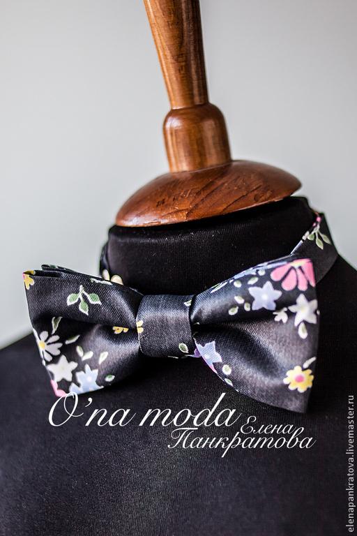 Галстуки, бабочки ручной работы. Ярмарка Мастеров - ручная работа. Купить галстук-бабочка (в ассортименте). Handmade. Черный, галстук