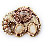 Brooches handmade. Livemaster - original item Brooch pink elephant. Handmade.