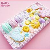 "Сумки и аксессуары ручной работы. Ярмарка Мастеров - ручная работа Чехол для iPhone 4 ""Lovely Sweets"" 16. Handmade."