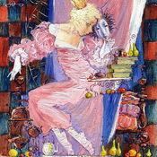 """Картины и панно ручной работы. Ярмарка Мастеров - ручная работа """"Принцесса на горошине"""". Handmade."""