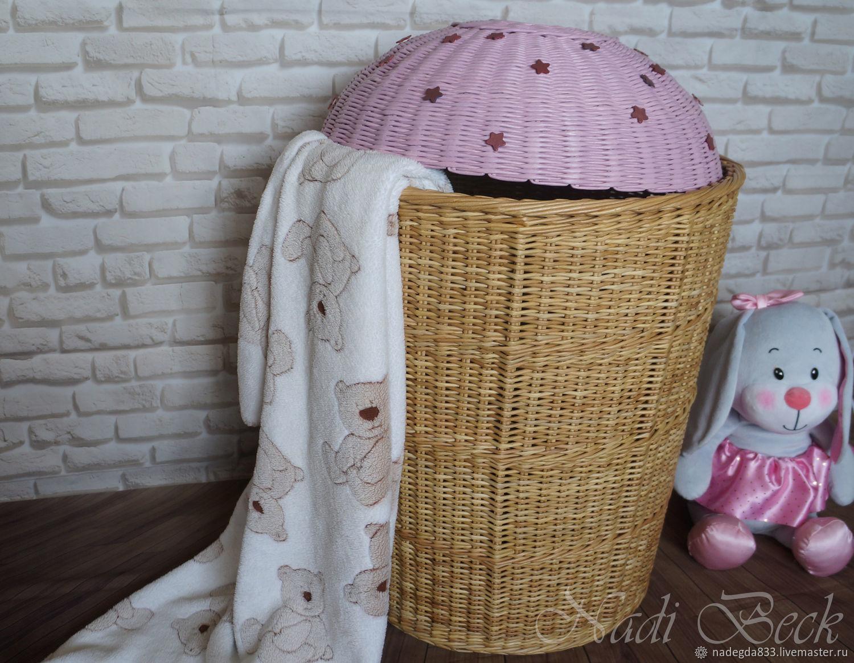 для корзины для игрушек плетеные фото нашей