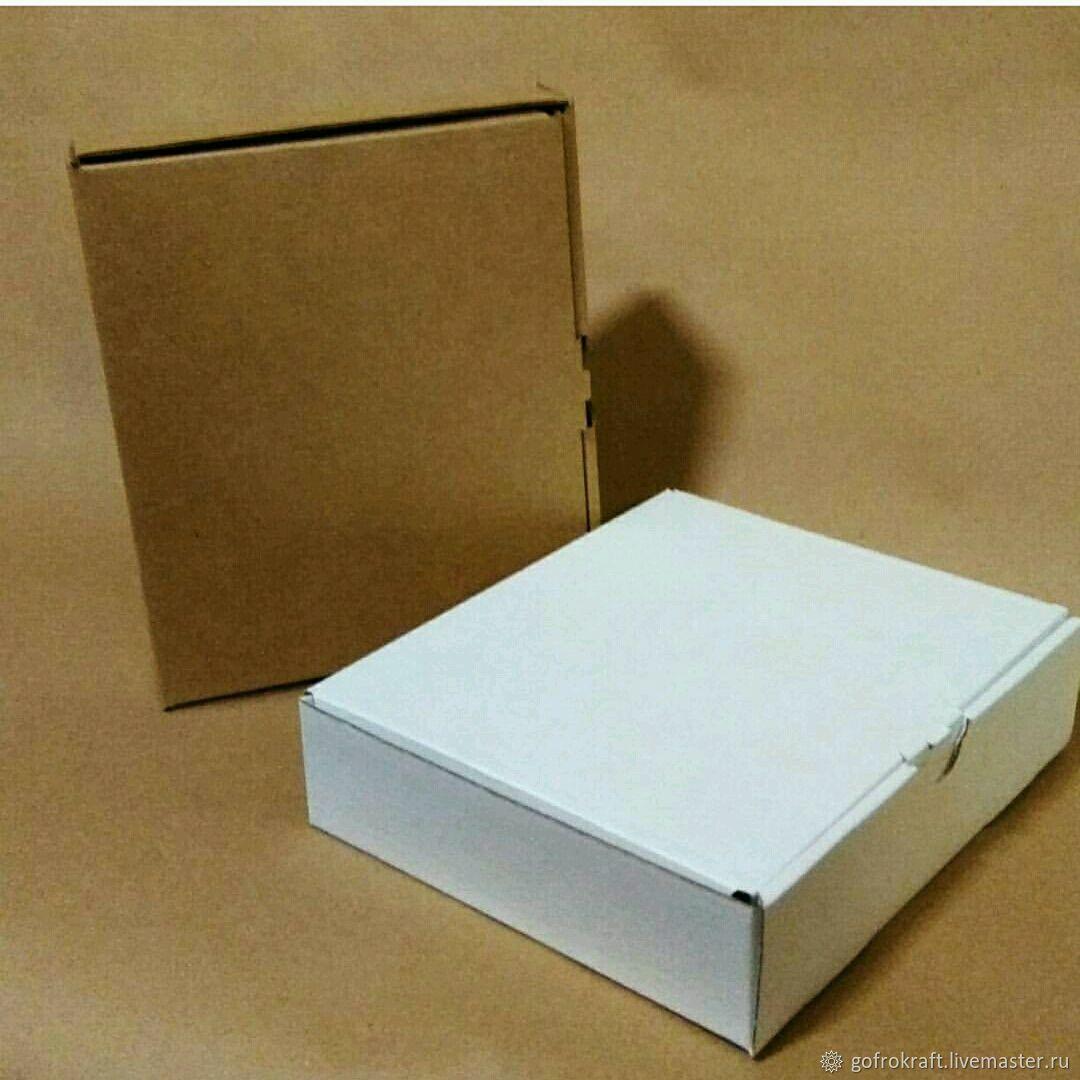 Коробка 17.5_14.5_4.5 см. Самосборная упаковка Коробка для украшений, Материалы для творчества, Москва, Фото №1