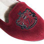 Обувь ручной работы. Ярмарка Мастеров - ручная работа Лоферы замшевые Bodo. Handmade.