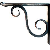 Для дома и интерьера handmade. Livemaster - original item Wrought iron bracket