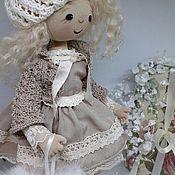 Ангел -Хранитель.Интерьерная, текстильная кукла.
