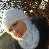 Аксессуары ручной работы. Ярмарка Мастеров - ручная работа шапочка-шлем Княжна. Handmade.
