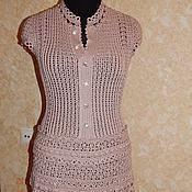 Одежда ручной работы. Ярмарка Мастеров - ручная работа платье Жаклин по мотивам Монторо. Handmade.