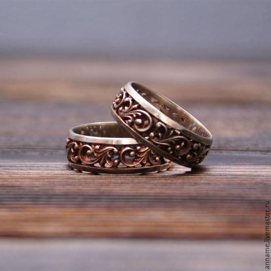 """Кольца ручной работы. Ярмарка Мастеров - ручная работа. Купить Кольцо """"Виньетка"""". Handmade. Серебряный, кольцо, украшение"""