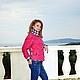 Верхняя одежда ручной работы. Куртка стеганая малиновая. Наталия Иванова. Интернет-магазин Ярмарка Мастеров. Маджента, стильная куртка