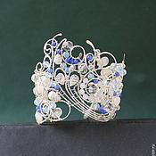 Украшения handmade. Livemaster - original item Bracelet Lunar Silver. Handmade.