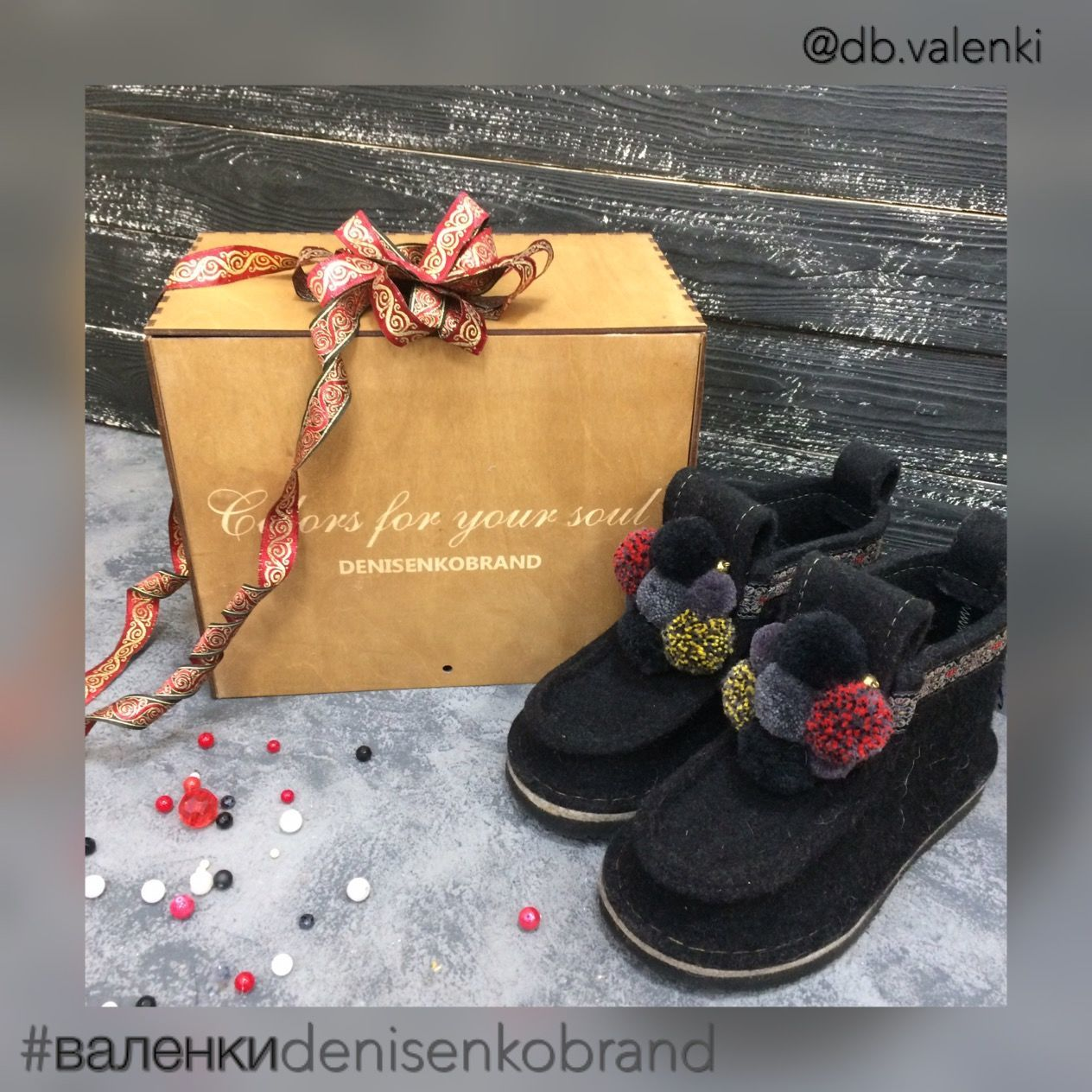 Boots womens black 'the Black TULIP' for the street, Valeshis, Moscow,  Фото №1