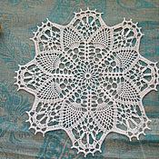 Для дома и интерьера handmade. Livemaster - original item Decorative napkins: A napkin tracery. Handmade.