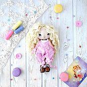 Куклы и пупсы ручной работы. Ярмарка Мастеров - ручная работа Кукла текстильная с одеждой. Handmade.