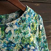 """Блузки ручной работы. Ярмарка Мастеров - ручная работа Блуза """"Неоновый сад"""".. Handmade."""