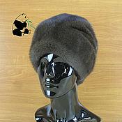 Аксессуары handmade. Livemaster - original item Luxurious women`s hat fur mink Finnish Art.IA-6. Handmade.