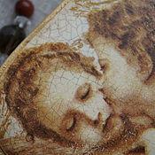"""Подарки к праздникам ручной работы. Ярмарка Мастеров - ручная работа Шкатулка-валентинка  """"Ангелы"""". Handmade."""