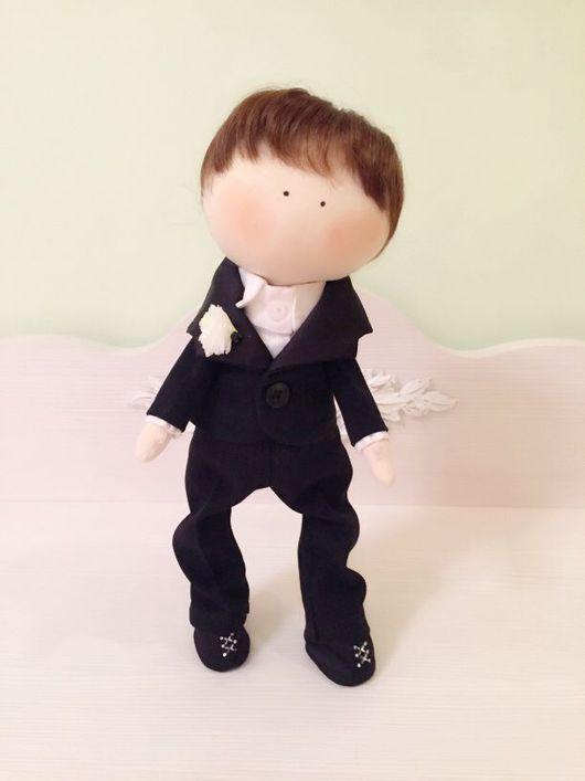 """Куклы тыквоголовки ручной работы. Ярмарка Мастеров - ручная работа. Купить Кукла """" Мальчик """". Handmade. кукла мальчик"""