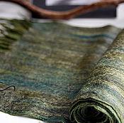 "Шарфы ручной работы. Ярмарка Мастеров - ручная работа Валяный мужской шарф ""Forest"". Handmade."