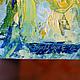Пейзаж ручной работы. В Море. K&ART. Ярмарка Мастеров. Небесный, картина в подарок