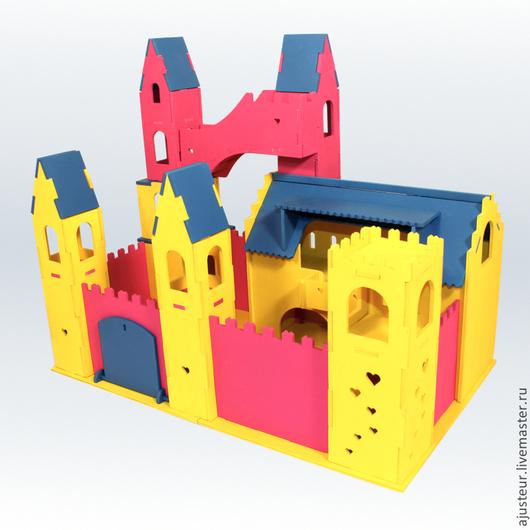 Кукольный дом ручной работы. Ярмарка Мастеров - ручная работа. Купить Замок Спящей Красавицы. Handmade. Разноцветный, кукольный дом
