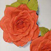 Бутоньерки ручной работы. Ярмарка Мастеров - ручная работа Роза. Handmade.