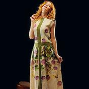 """Одежда ручной работы. Ярмарка Мастеров - ручная работа Платье """"Летний вечер"""". Handmade."""