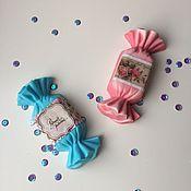 Косметика ручной работы. Ярмарка Мастеров - ручная работа Мыло конфетка с фантиком. Handmade.