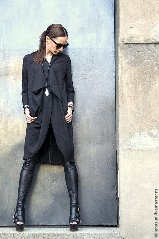 туника, платье. кардиган, черное платье, летнее платье Aakasha Ярмарка Мастеров