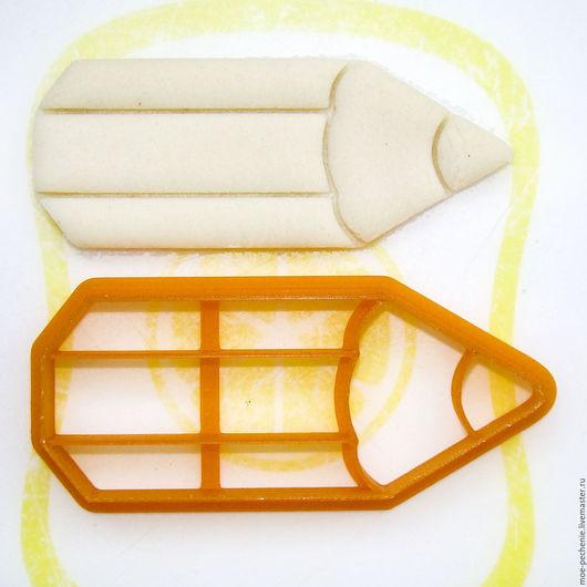 Карандаш.  Вырубка-штамп для пряников, печенья, мастики, поделок из соленого теста.