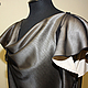Silk blouse with cascade. Blouses. Gleamnight fashion-studio. My Livemaster. Фото №5