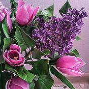 Цветы и флористика ручной работы. Ярмарка Мастеров - ручная работа букет ВЕСНА. Handmade.