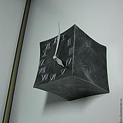 Часы классические ручной работы. Ярмарка Мастеров - ручная работа Часы настенные кованые Куб. Handmade.