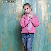 Работы для детей, handmade. Livemaster - original item Felted jacket for girls Pink dream. Handmade.