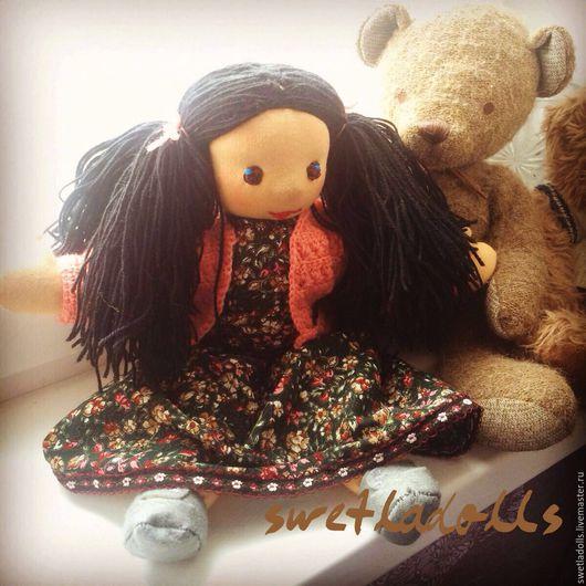 Вальдорфская кукла. Handmade by Swetla. Вальдорфская игрушка ручной работы. Купить. Текстильная кукла по Вальдорфской технологии. Ручная работа.