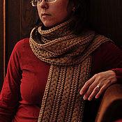 Аксессуары ручной работы. Ярмарка Мастеров - ручная работа Вязанный весенний шарф. Handmade.