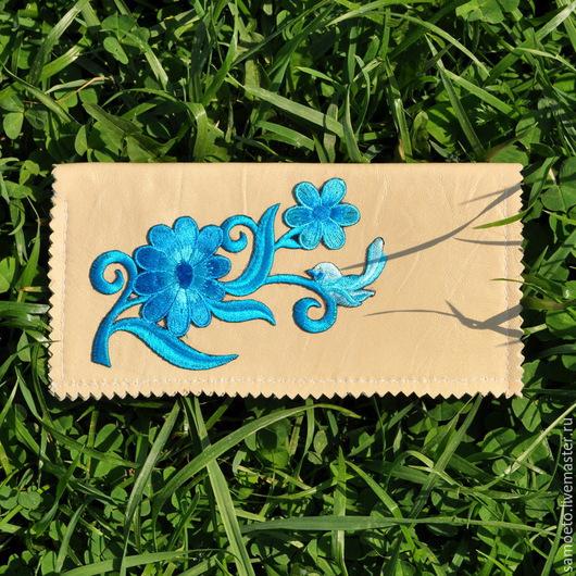 `Синяя птица` конверт для денег. Самое То. Ярмарка Мастеров.