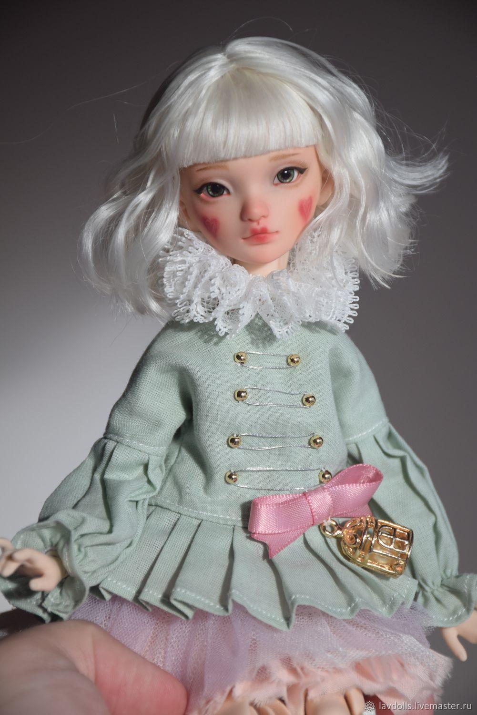 Арлекин авторская шарнирная кукла, полиуретан, Шарнирная кукла, Горячий Ключ,  Фото №1