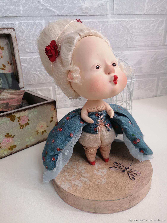 "Авторская кукла "" Жозефина"", Будуарная кукла, Москва,  Фото №1"