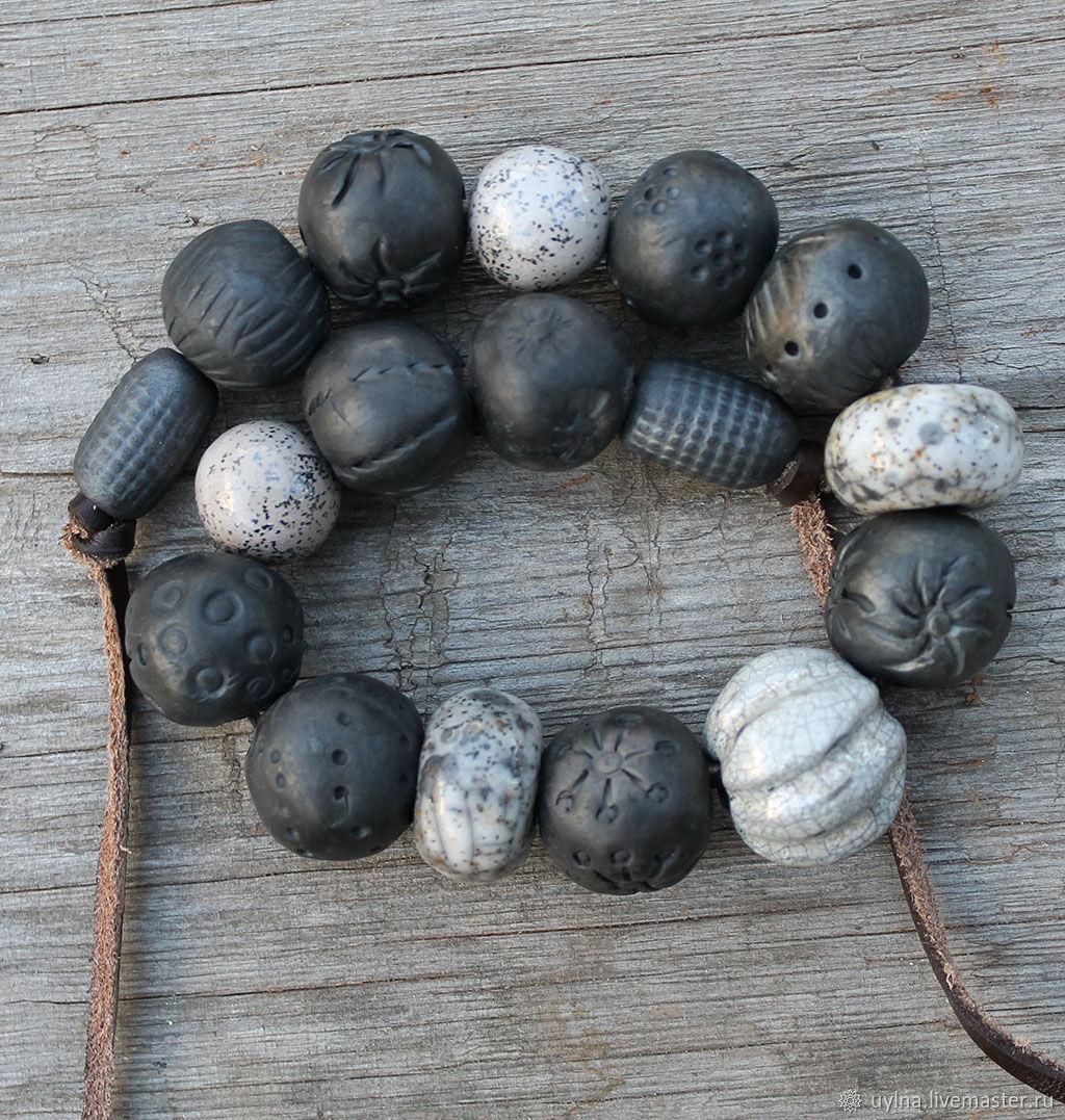 Collar de cerámica 'Rapsodia', Necklace, Moscow,  Фото №1