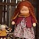 Вальдорфская игрушка ручной работы. Мартинка, 40см.. Калина Ерофеева куклы для детей. Ярмарка Мастеров. Игровая кукла, Эко игрушка