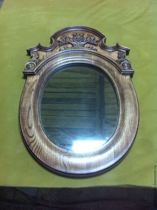 Зеркала ручной работы. Ярмарка Мастеров - ручная работа. Купить Рама для зеркала. Handmade. Коричневый, рама для зеркала, зеркало настенное