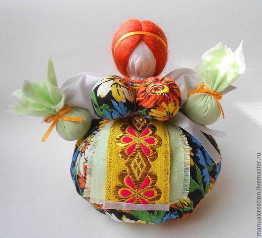 """Народные куклы ручной работы. Ярмарка Мастеров - ручная работа. Купить Травница """"Марьюшка"""". Handmade. Кубышка-травница, ароматизированная кукла"""