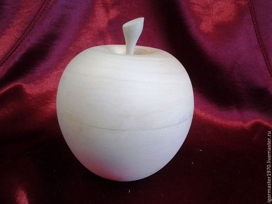 Декупаж и роспись ручной работы. Ярмарка Мастеров - ручная работа. Купить Шкатулка яблоко ( 5 размеров ). Handmade.