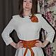 Платья ручной работы. Платье. intanti творческая мастерская. Ярмарка Мастеров. Одежда для женщин, модное платье, цветок из ткани