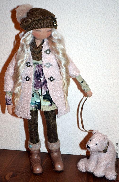 Коллекционные куклы ручной работы. Ярмарка Мастеров - ручная работа. Купить ДРУЗЬЯ БЫВАЮТ РАЗНЫЕ.... Handmade. Интерьерная кукла, синтепух